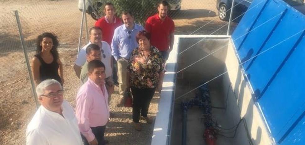 Inaugurado el abastecimiento de agua de Espeluy, primero de Andalucía con autosuministro eléctrico