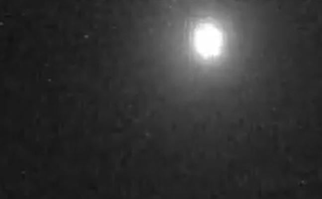 Un cometa provoca la caída de varias bolas de fuego sobre la península Ibérica