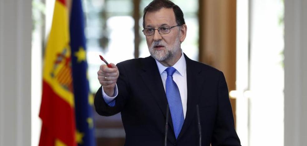 Rajoy se reunirá con Macron, Merkel y Gentiloni el 28 de agosto