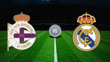 Deportivo vs Real Madrid La Liga 2017-18: dónde ver online por Internet en vivo y directo (horarios y televisión)