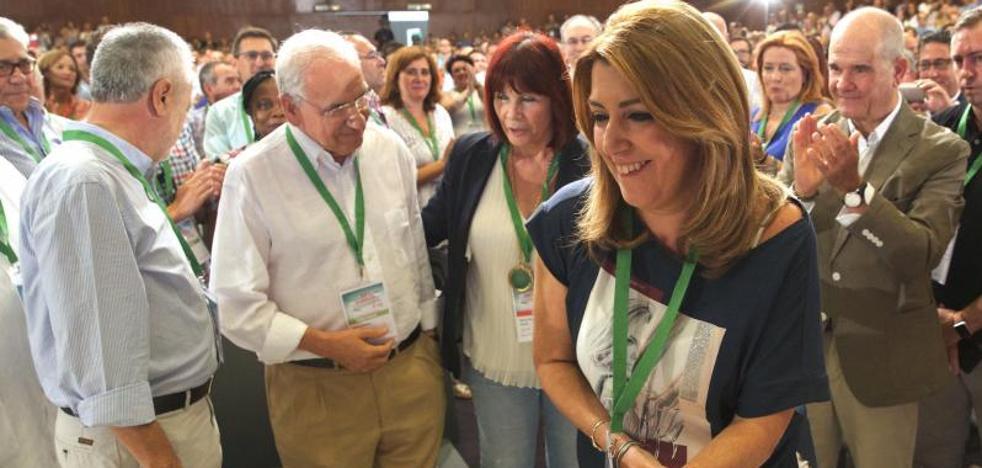 Susana Díaz renueva su liderazgo andaluz con la bandera de la igualdad territorial