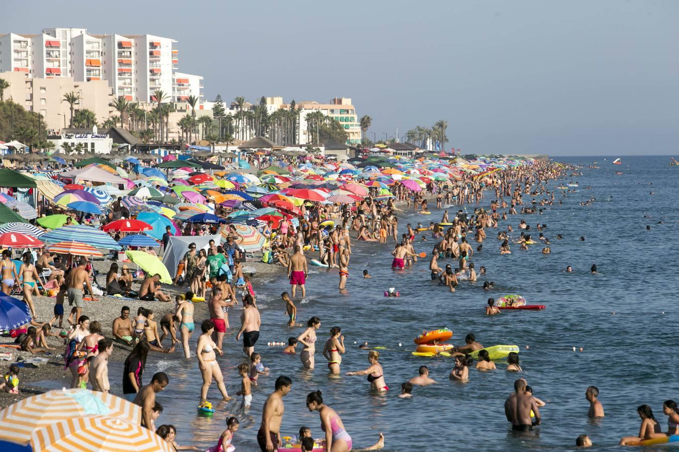 Puro verano en las playas