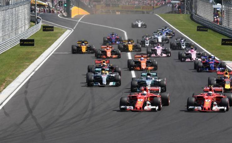Las mejores imágenes del Gran Premio de Hungría
