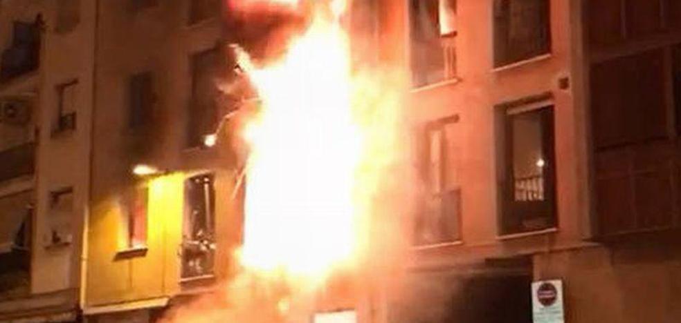 Un hombre hiere a trece personas al suicidarse con una explosión de gas en Navarra