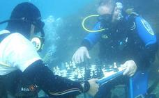 Jorge Fernández gana el único torneo de Europa que se disputa en el fondo del mar
