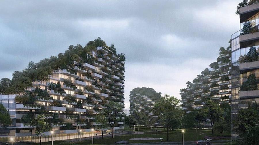 La primera ciudad-bosque del mundo