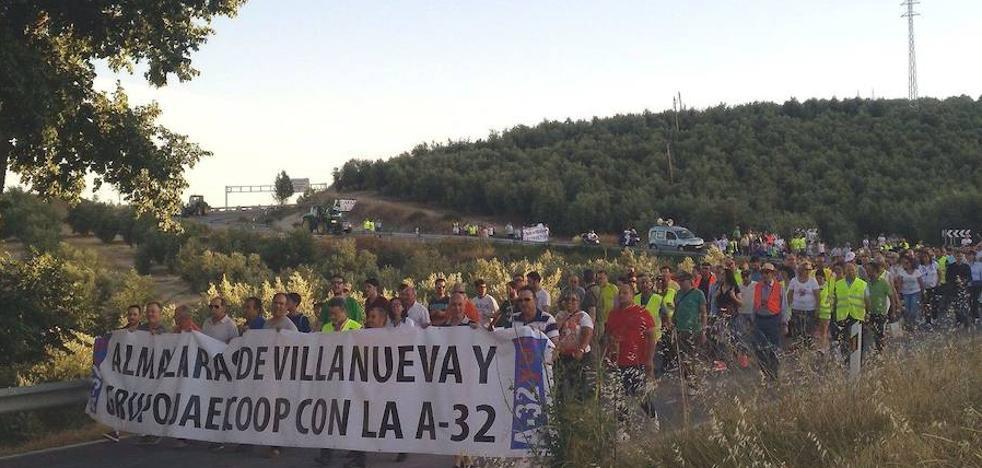La Plataforma por la A-32 denuncia la denegación del permiso para la manifestación del día 9 en Torreperogil