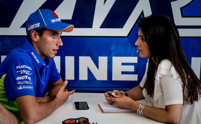 Alex Rins o el secreto para subirse a una MotoGP