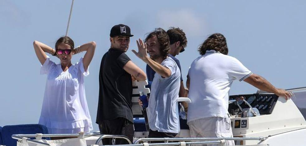 La emotiva despedida para Ángel Nieto en el mar de Ibiza