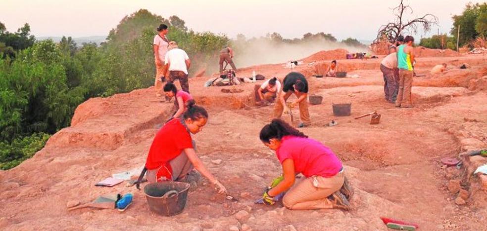 La erosión puede acabar con la excavación en Santa Potenciana