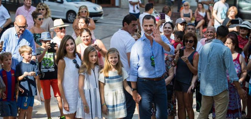 El Rey cierra su agenda en Mallorca tras once días