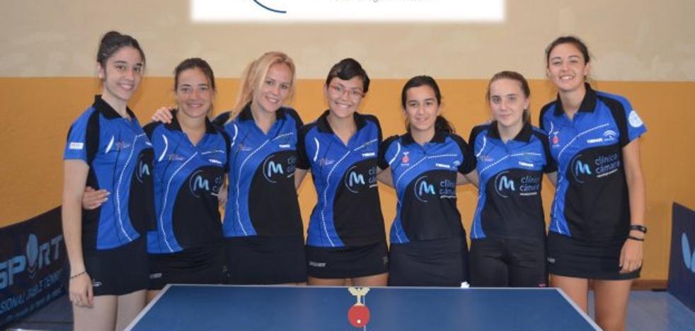 El Hujase Tenis de Mesa de Jaén se concentra en Andújar para preparar una temporada ilusionante