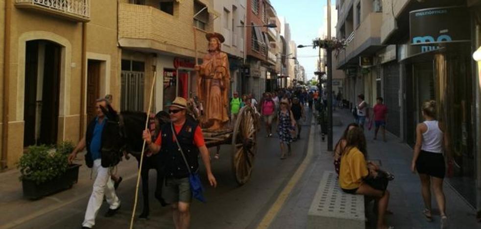 Garrucha entra en el mapa del Camino de Santiago