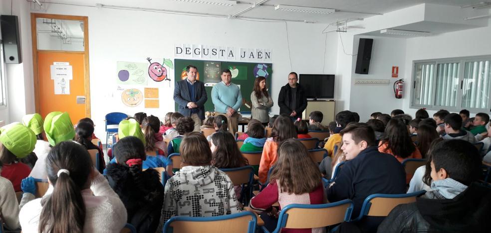 750 alumnos de nueve centros educativos participan en el programa 'Degusta Jaén en tu Colegio'
