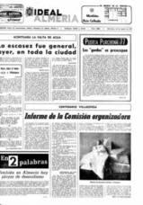 La falta de agua en la capital, preocupación hace 40 años