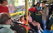 El Consorcio de Transportes pone en marcha un servicio de bus accesible entre Íllora y Granada