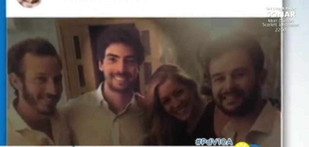 Primera imágenes de Alba Carrillo con su novio