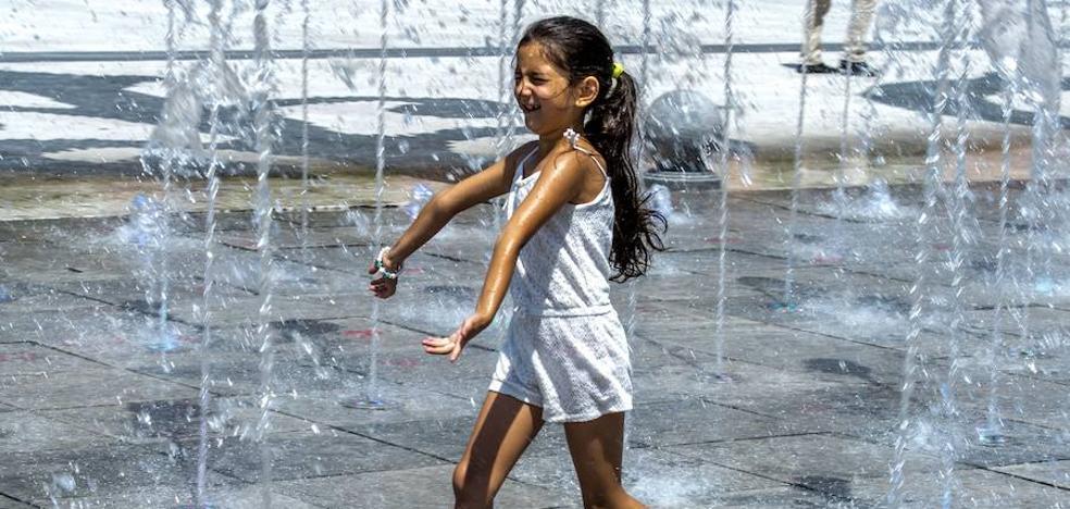 Las temperaturas altas vuelven tras unos días de vacaciones con temperaturas de octubre