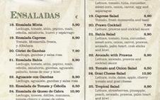 """Una mujer se indigna por el plato vegano """"más triste"""" de un restaurante andaluz"""