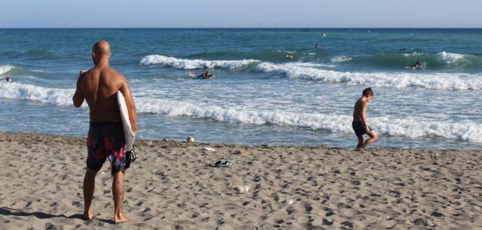 Surfeando en la Costa Tropical
