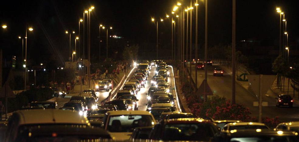 Más de medio millón de coches viajarán en Almería durante el puente de agosto
