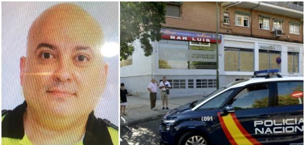 El policía degollado en Madrid recibió un disparo hace meses por evitar un robo