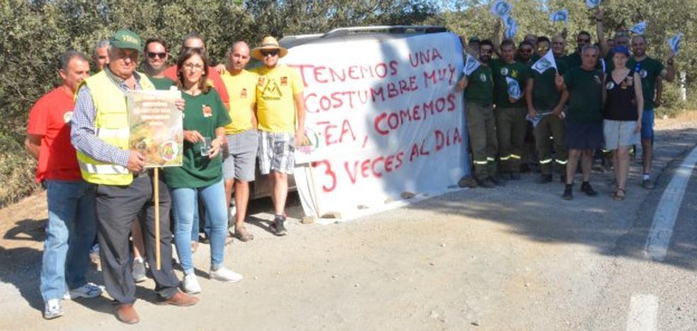 Bomberos forestales reclaman mejorar sus condiciones laborales
