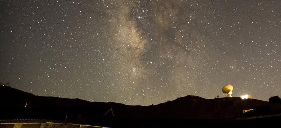 1.000 afortunados disfrutaron de las Perseidas en Sierra Nevada