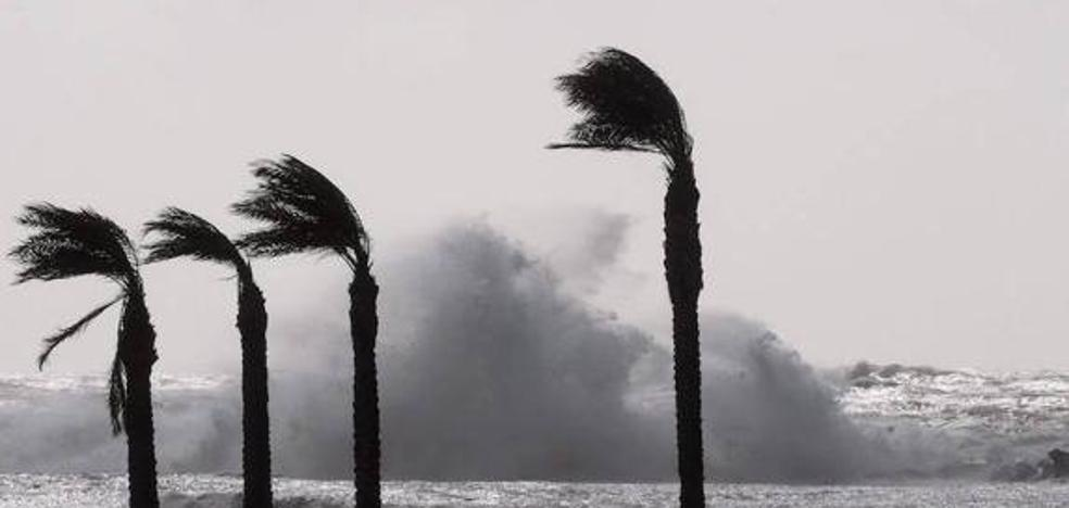 Almería, en aviso amarillo por viento y fenómenos costeros