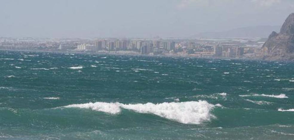 Aviso amarillo en Almería por vientos y fenómenos costeros