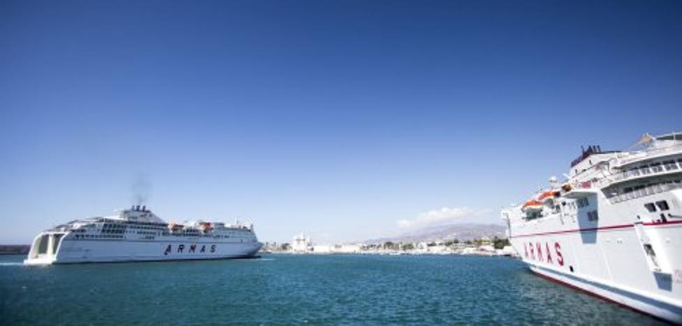 El ferry con Nador crece un 33,2% y se cuela como la cuarta línea más utilizada en la OPE