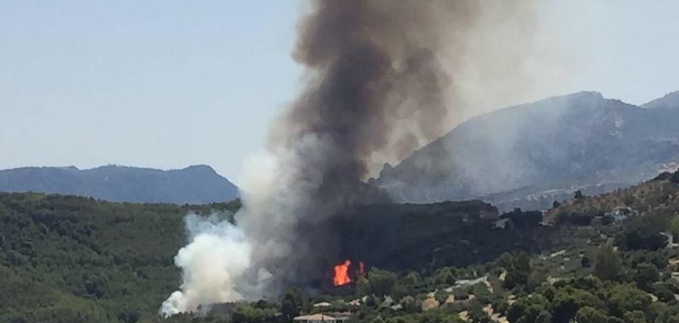 Extinguido el incendio en Los Villares