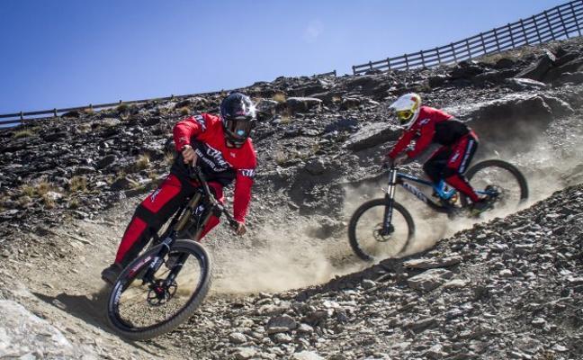 Bike Park, la gran apuesta veraniega de Sierra Nevada