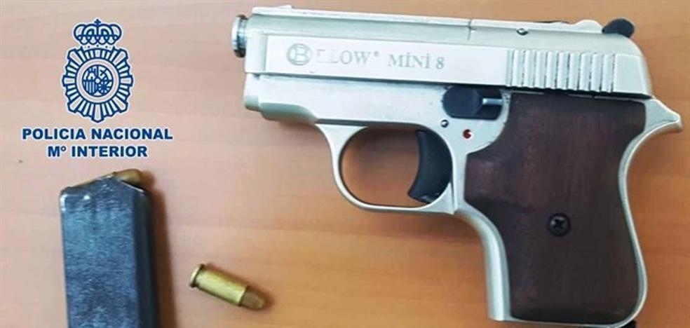 Detenido un menor en Almería con un arma preparada paradisparar