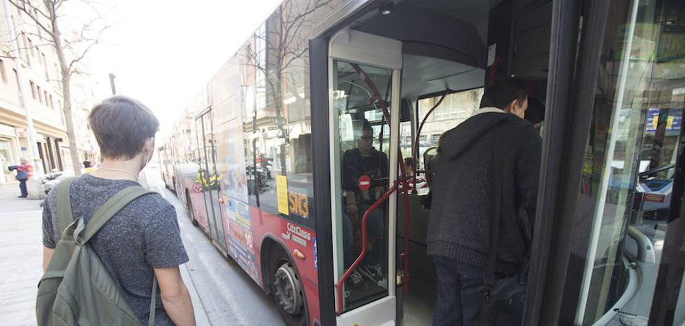 El autobús urbano en Granada es más caro desde hoy