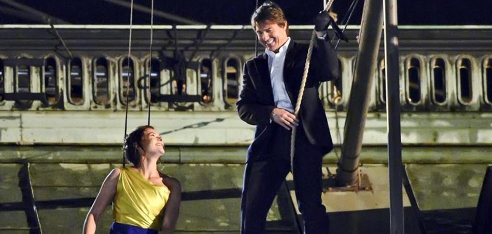 Tom Cruise resulta herido durante una escena de 'Mission Impossible 6'