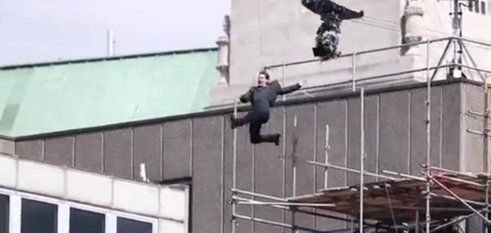 El fuerte accidente de Tom Cruise durante el rodaje de 'Misión Imposible 6'