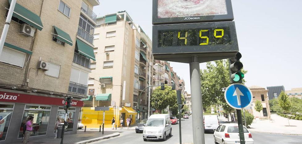 Aviso amarillo en Granada por riesgo de altas temperaturas
