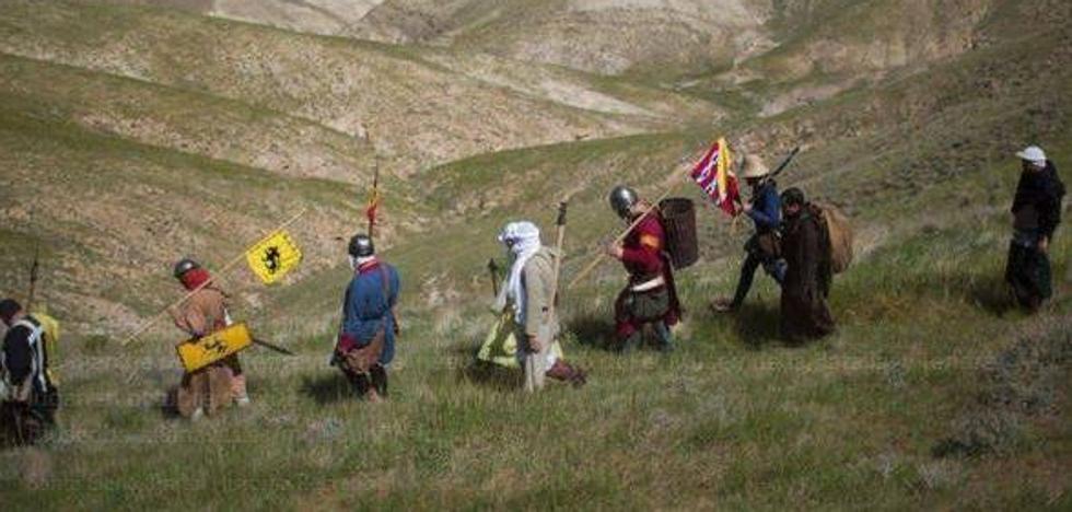 Tras los pasos del ejército cristiano