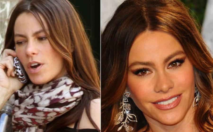 14 famosas del mundo sin maquillaje
