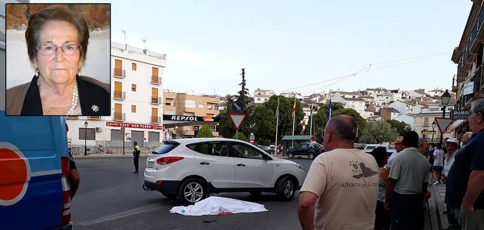 Fallece una mujer de 84 años atropellada en Alhama de Granada