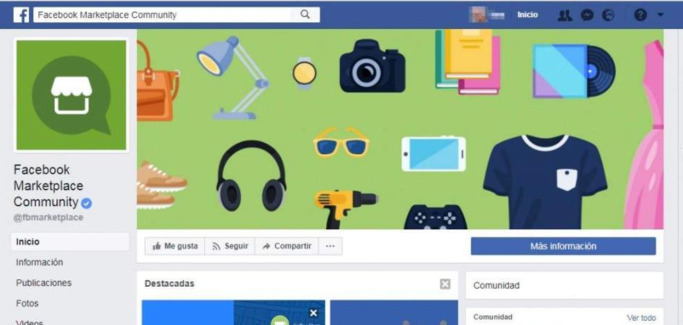 Facebook lanza su Wallapop