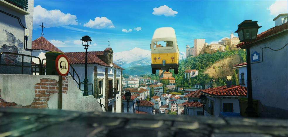 Granada prepara la 'Ruta Tadeo Jones' con las localizaciones de la capital en la película