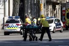 Atropello en Barcelona, las imágenes del suceso