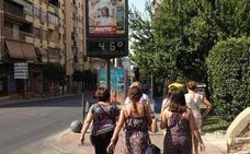 Jaén estará hoy en aviso naranja por altas temperaturas