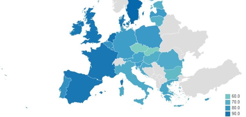 España, entre los países menos racistas de Europa