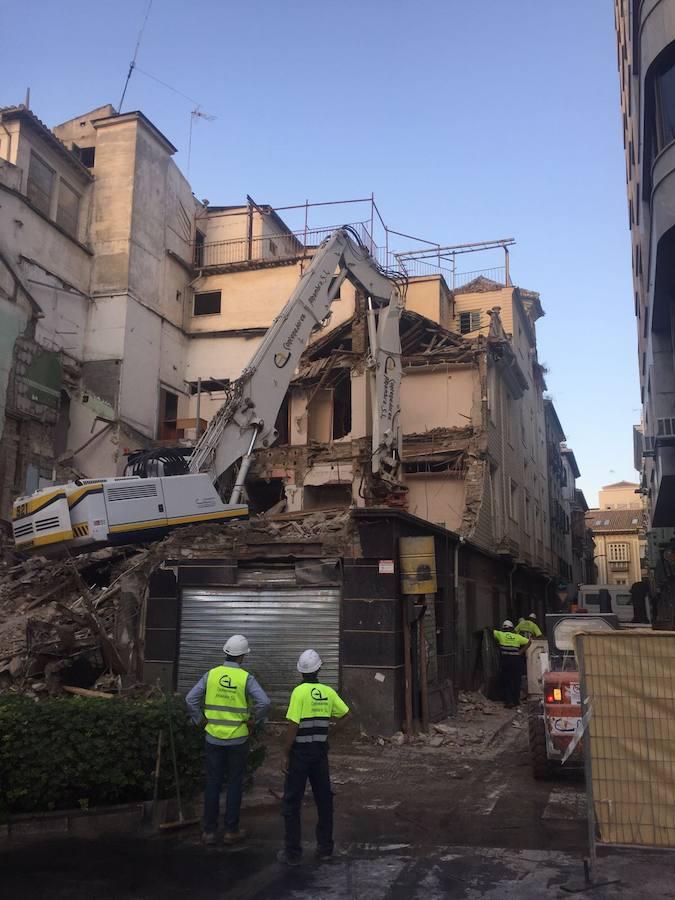 El Hotel Montecarlo, demolido