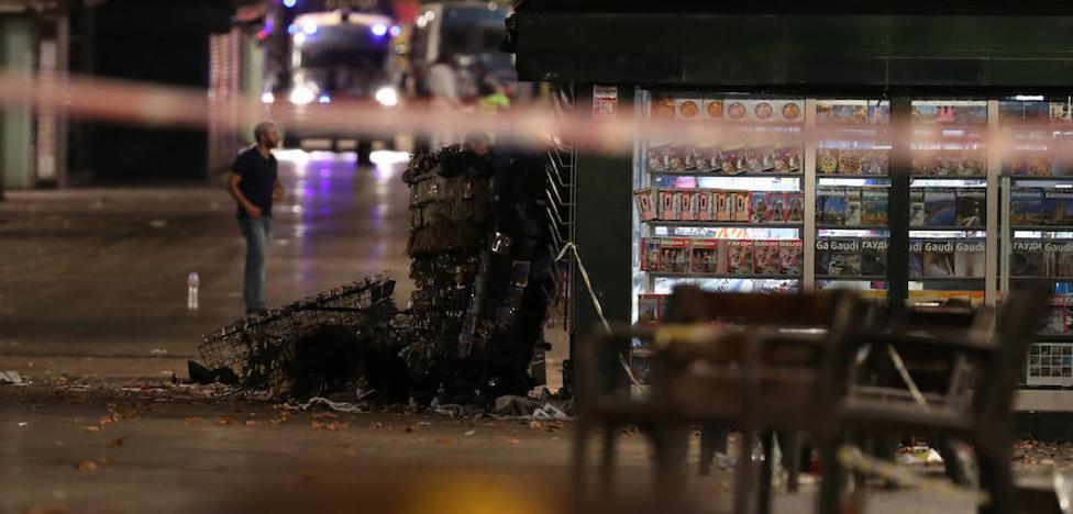 Abatidos cuatro terroristas y herido un quinto cuando pretendían otro atropello masivo en Cambrils