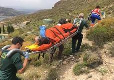 Rescatado un senderista herido en Güéjar Sierra