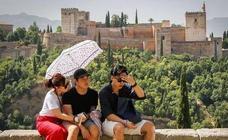 Aviso de nivel amarillo hoy en Granada por máximas de hasta 39º